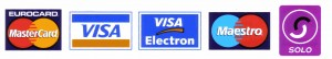 Credit Card Logo House Electricians
