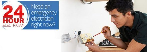 24 Hour Electricians in Smockington
