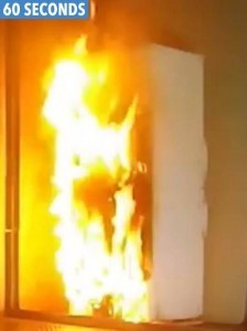 Electrical Fridge Freezer Fires 60 Seconds